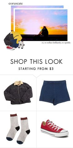 """""""sunset, sunrise"""" by xjooniechimsx ❤ liked on Polyvore featuring Levi's and Converse"""
