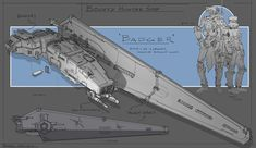 looking forward to rogue one and wanted to try something that could fit in a galaxy far, far away. D&d Star Wars, Star Wars The Old, Star Wars Ships, Star Wars Spaceships, Sci Fi Spaceships, Edge Of The Empire, Starship Concept, Star Wars Vehicles, Star Wars Concept Art