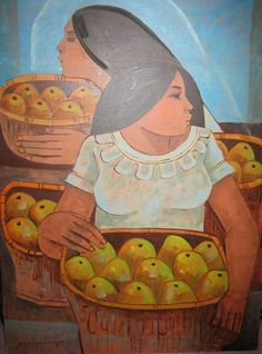 Paco Gorospe : Girl With Mangoes