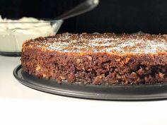 Glutenfri knäckig kladdkaka Cheesecake Desserts, No Bake Desserts, Dessert Recipes, Gluten Free Cakes, Gluten Free Recipes, Icebox Cake, Thanksgiving Desserts, Cake Batter, Food Inspiration