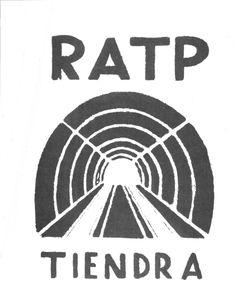 1968 mai RATP tiendra. Affiche de l'atelier populaire des Beaux-arts