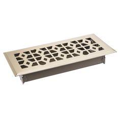 True Aire® 10in. Victorian Floor Register (C166-VPB 04x10) - Floor Registers & Grills - Ace Hardware