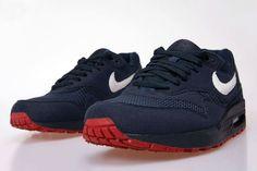 Nike Air Max 1 'Obsidian/University Red'   True Patriots