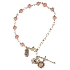 Waxing Poetic Bracelet Rosary Bronze #laylagrayce       .*★*. .*★ *.*    ★ ★       *  ★           .' '*.     .     `  .  .