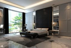 interior-luxury-master-bedroom-ideas-with-cebtral-carpet-under-bed-set-and-window-with-big-curtain-also-big-cabinet-creative-decorations-of-master-bedroom-design-ideas-bed-under-window-decorating-idea-1140x774.jpg 1,140×774 pixels