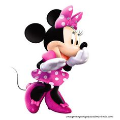 Minnie en rosa para imprimir:Imagenes y dibujos para imprimir.Todo en imagenes y dibujos