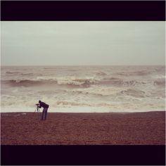 The Photographer #brighton #beach