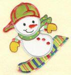 Snow Much Fun Applique