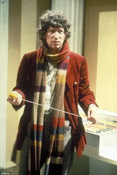Tom played the Fourth Doctor in the BBC series