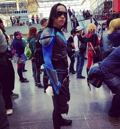 #nycc #nycc15 #cosplay #newyork #nightwing