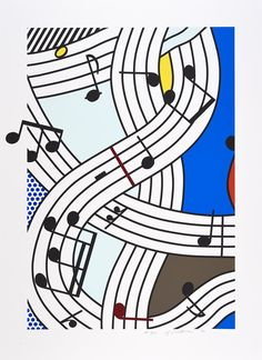 Roy Lichtenstein | Composition I | 1996 | Hamilton-Selway