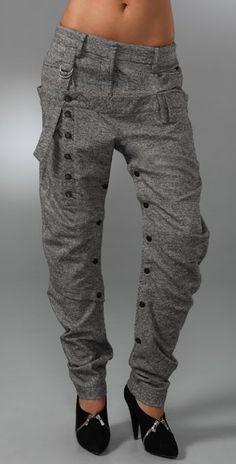 L.A.M.B. Tweed Harem Pants   SHOPBOP