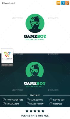 Logo Template 100 Re-sizable vector 100 Editable text Easily customizable colors AI & EPS documents For any modification do not
