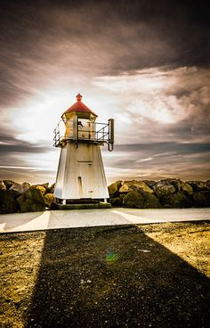 Small lighthouse @ Lista, Norway