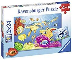Ravensburger has been making toys for the hand, head, and heart for over 130 years. Our jigsaw puzzles for kids will bowl you over with premium qualit. Puzzles Für Kinder, Jigsaw Puzzles For Kids, Puzzles For Toddlers, Ravensburger Puzzle, Fun Activities To Do, How To Make Toys, Child Development, Gifts For Boys, Under The Sea