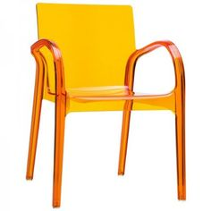 Cup Dining Chair In Orange Vinyl   Modern   Dining Chairs   LexMod | Color  | Pinterest | Photo Cup