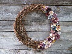 Rolled Paper Flower wreath