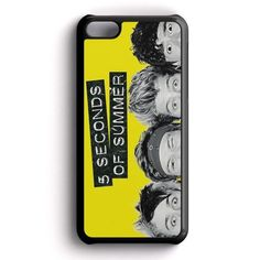 Funny Eyes 5 Second Of Summer iPhone 5C Case