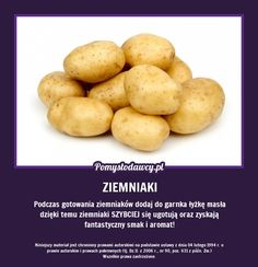 Tak ugotujesz szybciej ziemniaki i dodatkowo będą miały lepszy smak. Peeling Potatoes, Polish Recipes, Slow Food, Food Design, Good Advice, Food Hacks, Food Tips, Tricks, Food Inspiration