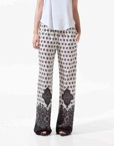 Super cute summer trousers!