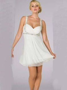 New Arrival Gorgeous Princess Ruched Beading Short Chiffon Homecoming Dress With Straps HD-684