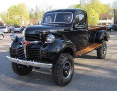 1949 Dodge Power Wagon 4x4 Old Dodge Trucks, Dodge Pickup, Old Pickup Trucks, 4x4 Trucks, Diesel Trucks, Cool Trucks, Dodge 300, Muscle Truck, Dodge Power Wagon