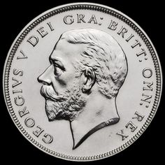 1927 George V Silver Proof Wreath Crown