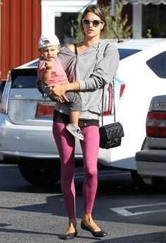 Alessandra Ambrosio wearing Chanel 2.55 Classic Flap Bag Brentwood September 12 2013