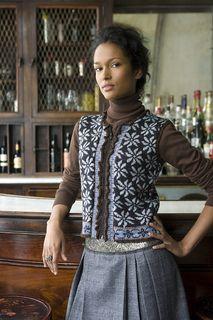 Vogue Knitting - Winter 2009/10 #05 Flowered Vest