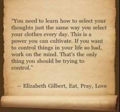 Eat Pray Love Quote - An Extraordinary Life