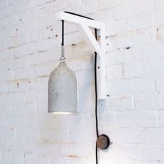 Concrete Pendant Light - How to Hang Pendant Lights - 9 Inventive Ideas - Bob Vila
