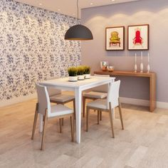 Mesa de Jantar Adette Iv Branca