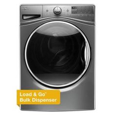 4.5 cu. ft. High-Efficiency Front Load Washer with Steam in Chrome Shadow, ENERGY STAR  $799.00  Was $1100.00