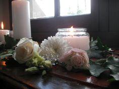 Chapel window flowers