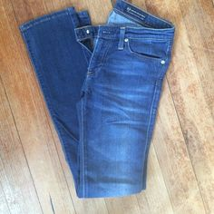 """AG denim jeans - super soft """"The Stevie"""" AG jeans - pre loved but great condition 27r AG Adriano Goldschmied Jeans Skinny"""