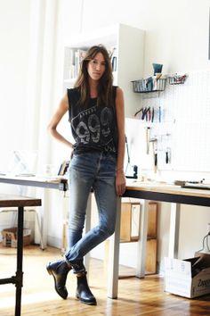 the perfect jeans // rackk and ruin: CAROLINE VENTURA