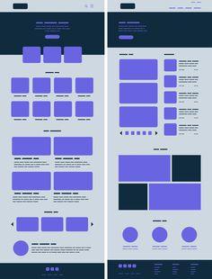 Gestalt principles in UI design. - Gestalt principles in UI design. Design Food, Graphisches Design, Web Design Tips, Web Design Company, Page Design, Flat Design, Menu Design, Website Design Inspiration, Best Website Design