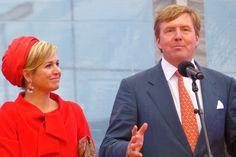 Zuid-Holland Provinciebezoeken Queen Maxima and King Willem-Alexander visiting the provincie Zuid-Holland The Hague 21 April 2013