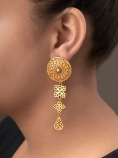 The Loom- An online Shop for Exclusive Handcrafted products comprising of Apparel, Sarees, Jewelry, Footwears & Home decor. Gold Jewelry, Jewelery, Fine Jewelry, Necklace Set, Gold Necklace, Tanishq Jewellery, Earrings Online, Jewelry Photography, Ear Rings