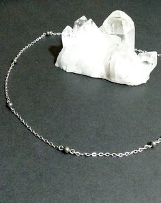 Check out this item in my Etsy shop https://www.etsy.com/listing/481927723/pyrite-chain-necklace-minimalist-dainty