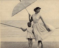 1955 fashion mother daughter[2]