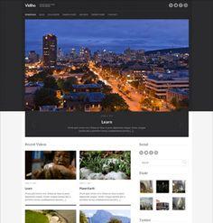 Vidiho Video blog theme for WordPress