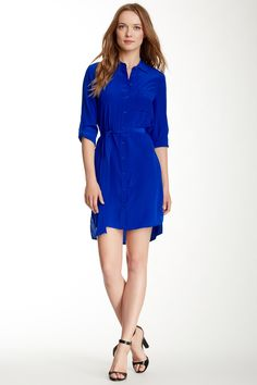 Diane von Furstenberg Prita Shirt Silk Dress by Diane von Furstenberg on @nordstrom_rack