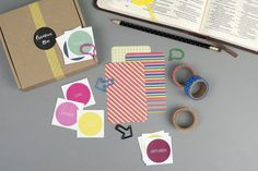 This 20 piece Bible Journaling Kit is a great way to brighten up your journal pages. Whether you're completely new to journaling, or you've been doing it for years this box this kit should help you along your way to make beautiful journal entries.  We currently offer FREE delivery to UK addresses