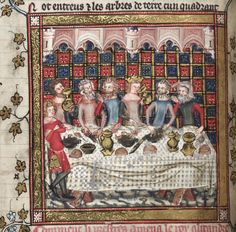 Medieval Christmas. Feasting in Oxford, Bodleian Library MS Bodley 264.