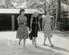 Annie Glenn, Rene Carpenter, and Louise Shepard.