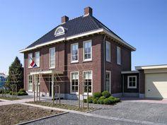 Straatbeeld van het landelijke herenhuis
