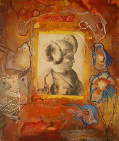 Shy Shaman by Jane Ash Poitras presented by The Collectors' Gallery of Art Native American Artists, Canadian Artists, Artwork Display, Indigenous Art, Native Art, Nativity, Ash, Contemporary, Modern