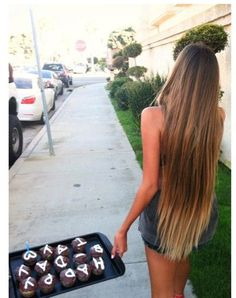 Long Brown Blonde Dipped - Hairstyles How To
