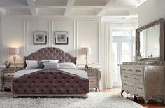 Decoration Remarkable Tufted Bedroom Sets For Enhance Your Awesome inside proportions 1824 X 1409 Bedroom Sets Albuquerque - Although many styles of Glamourous Bedroom, Bedroom Panel, King Size Bedroom Sets, Bedroom Interior, Bedroom Makeover, Bedroom Design, King Upholstered Bed, Interior Design Bedroom, Upholstered Bedroom